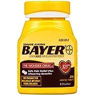 Genuine Bayer Aspirin Tablets, 325 mg,  200 Count