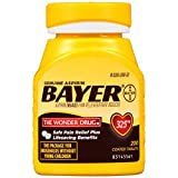 Genuine Bayer Aspirin Tablets, 325 mg, 200 Count