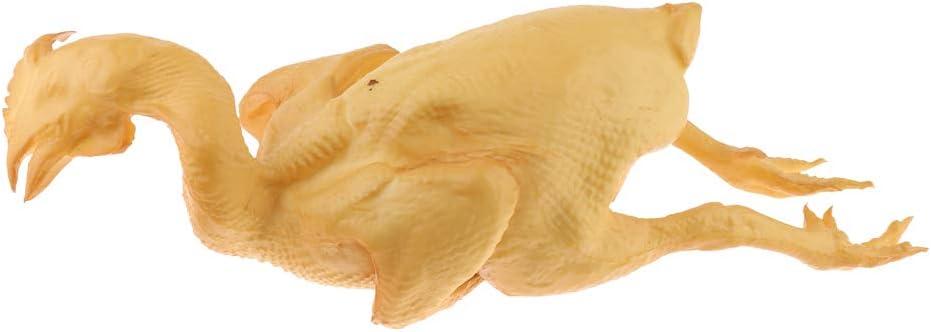 Flameer Artificial Simulation Fake Food Household Decor Chicken Duck Kitchen Display - Salt Roasted Chicken