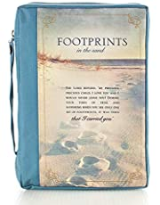 Footprints Poly-canvas Value Bible Cover