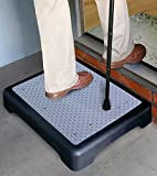 SM NEW Outdoor Step Weather Resistant Platform Rubber Mat Indoor Safety Stool Non Slip
