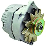 New Alternator Replaces Delco 10SI 10 SI IR/EF 3 Wire System 63 Amp W/V Drive Pulley