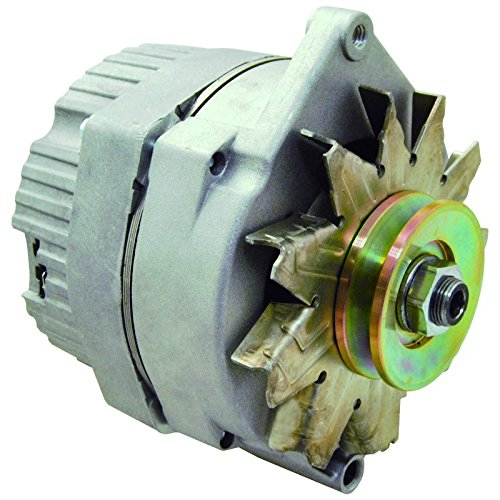 New Alternator Replaces Delco 10SI 10 SI IR/EF 3 Wire System 63 Amp W/V Drive Pulley by Parts Player