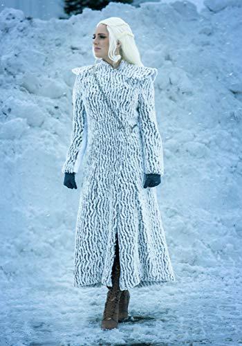 Winter Dragon Queen Costume for Women