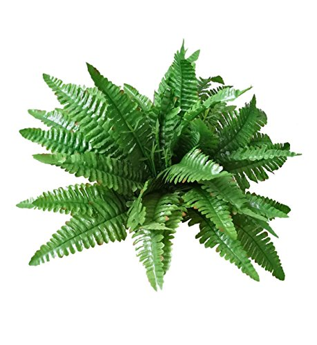 Artificial Silk Persian Grass Nearly Natural Fern Plant-2 Pack