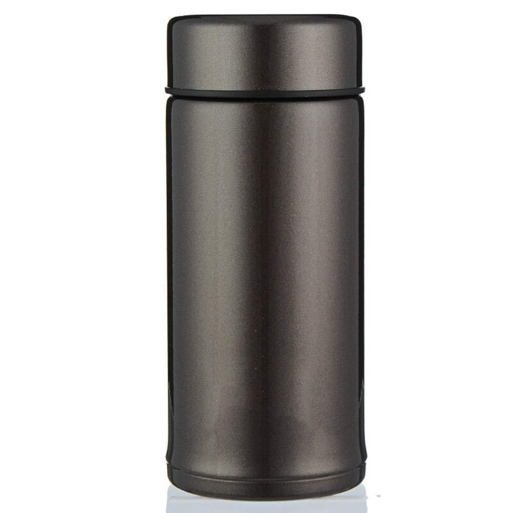 Sportflasche Isolier Becher Thermo Becher Travel Mug Kaffeebecher Wasserflasche Trinkbehälter Trinkflaschen-Leichte Mini Student Paar Tragen Und Langlebig JINRONG