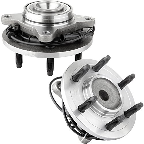 ECCPP Both (2) Wheel Hub Bearing Assembly 03-06 Ford Expedition Lincoln Navigator 2WD (Wheel Hub 2 Pcs Car)