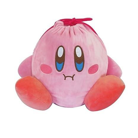 Kirby Star Bolsa de Cordones de Peluche con Diseño de ...