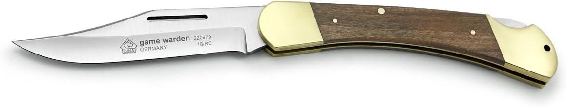 Puma Knives Puma Game Warden Plumwood Folding Pocket Knife,