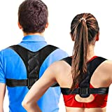 Posture Brace Adjustable Back Posture Braces Prevent The Hump from Sitting in Front of The Computer for Women and Clavicle Support to Improve Poor Shoulder Posture Back Pain Relief