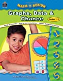 img - for Graphs, Data & Chance, Grades 1-2 (Math in Action series) book / textbook / text book