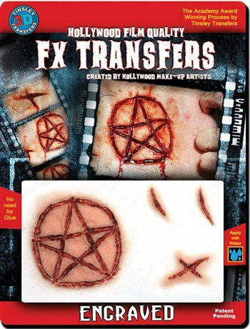 Tinsley Transfers  Engraved, Flesh/Multi, One Size]()