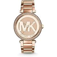 Michael Kors Parker Dial Rose Gold-tone Women's Watch