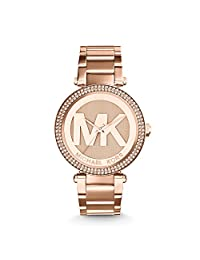 Michael Kors Parker MK5865 Women's Wrist Watches, Gold Dial