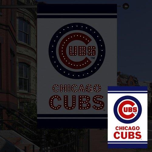 MLB Fiber Optic Flag MLB Team: Chicago Cubs