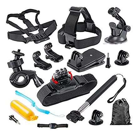 b29dfd3c45 Buy Mobile Gear Outdoor Sports Essentials 12 in 1 Accessories Bundle Kit  for GoPro