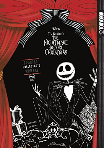 Disney Tim Burton's The Nightmare Before Christmas: Special Collector's Manga (Hardcover) (Disney Halloween Special)