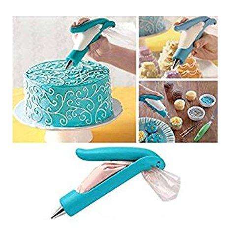 NiceButy multifunzionale del mestiere dello zucchero biscotto caramella, pistola penna impostare la pressione della torta di DIY meccanismo scrittore set Prodotti per la casa
