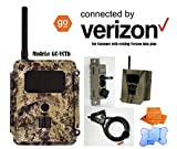 Spartan HD AT&T or VERIZON GoCam Deluxe Package Deal (2-year warranty) & FREE 6+1 Utowels' Premium Microfiber Towels (Connected by Verizon, Blackout Infrared, Model#GC-VCTb)
