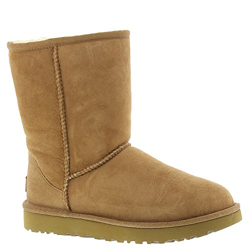 UGG Women's Classic Short II Suede Sheepskin Pull On Boot ()