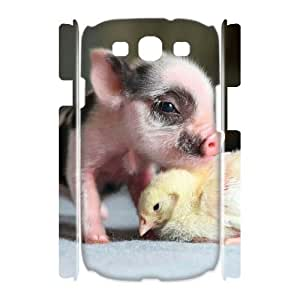 VNCASE Cute Pig Phone Case For Samsung Galaxy S3 I9300 [Pattern-1]