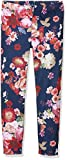 Yumi Girl's Oil Painted Floral Trousers
