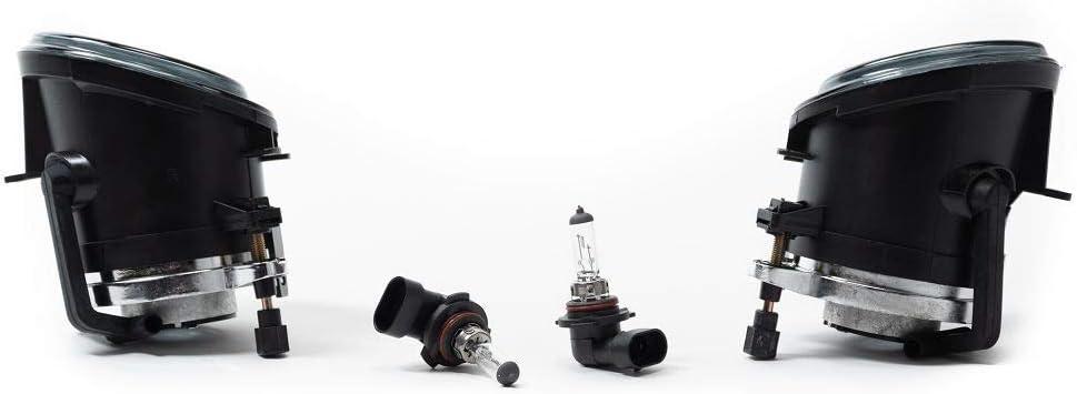 Nebelscheinwerfer Set Schwarz Smoke Für 3er E46 5er E39 M Stoßstange Auto