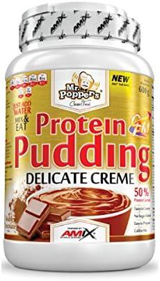 Mr Popper`s Protein Pudding Cream - 600 gr Vainilla and Yogurt