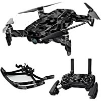 MightySkins Skin for DJI Mavic Air Drone - Black Camo | Max Combo Protective, Durable, and Unique Vinyl Decal wrap cover | Easy To Apply, Remove, and Change Styles | Made in the USA