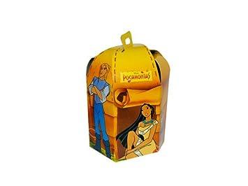 """Lote de 60 Cajas de Cartón """"Pocahontas"""" para Caramelos, Golosinas y Dulces"""