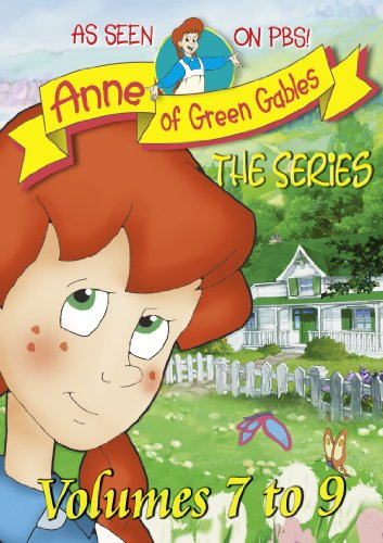 Anne the Animated Series Vol. 7-9 -  DVD, Rated G, Kevin Sullivan