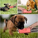 Esing Outdoor Dog Water Bottle,Portable Pet Water