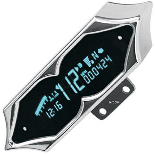 ダコタデジタル Dakota Digital スピード/タコメーター(km/h、MPH) 7000 クローム スパイク 2210-0066 MCV-7200   B01M1BPZLD