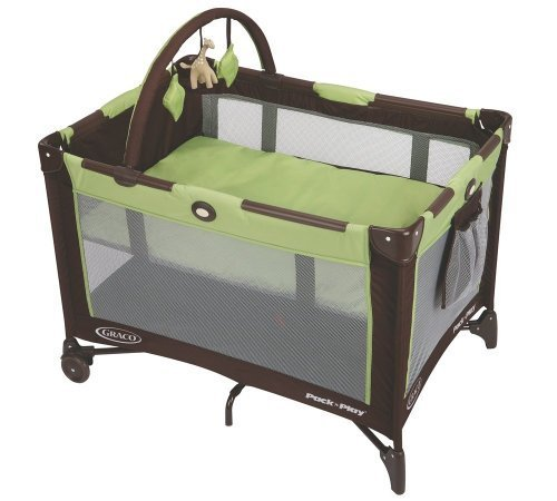 Graco Pack 'n Play On The Go Playard, - Graco Pack And Play Go Green