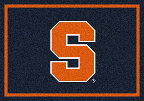 "Syracuse Orange NCAA Area Rug - Team Spirit (7'8"" x 10'9"") - Syracuse Football Rug"