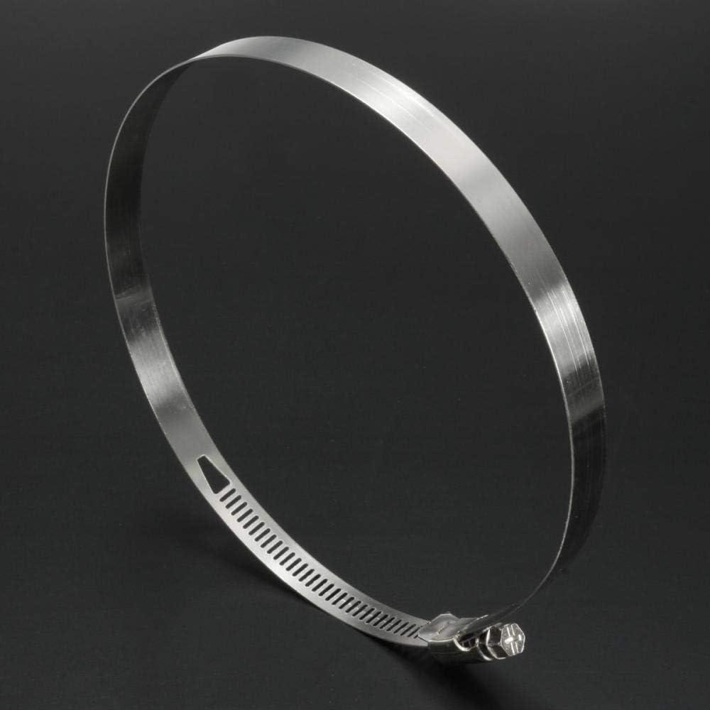 Colliers De Serrage Assortiment De Colliers De Serrage En Acier Inoxydable /À Plage R/églable De 70 /À 160 Mm-140