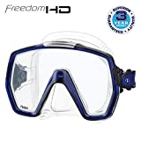 TUSA M-1001 Freedom HD Scuba Diving Mask, Cobalt Blue