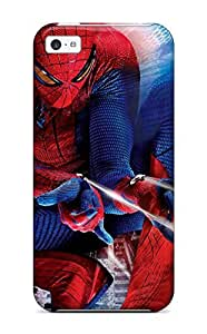 Awesome The Amazing Spider-man 60 Flip Case With Fashion Design For Iphone 5c by supermalls