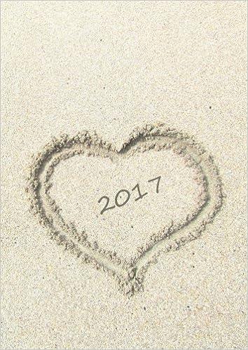 Book dicker TageBuch Kalender 2017 - HERZ IM SAND: Endlich genug Platz für dein Leben! 1 Tag pro DIN A4 Seite