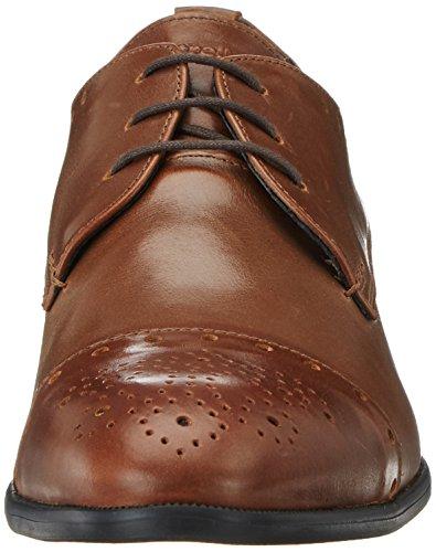 Strellson Holborn New Harley Brogue Lfu, Zapatos de Cordones Derby para Hombre Marrón (Cognac)