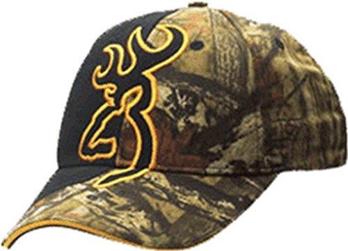 Browning Big Buckmark Hat, Mossy Oak Infinity, Semi-Fitted