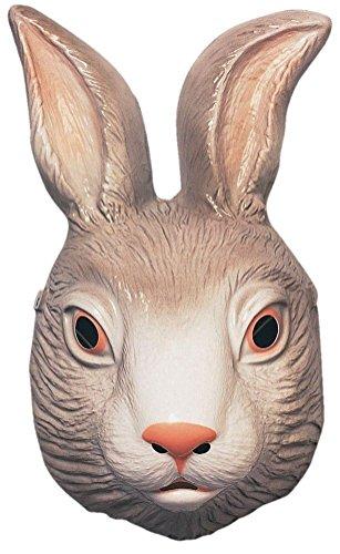 Forum Novelties 64316 Plastic Animal Bunny Mask (Plastic Animal Masks)