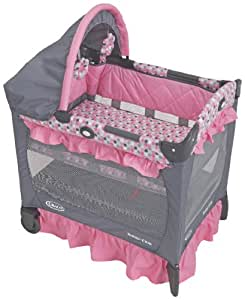 Graco Travel Lite Crib with Bassinet, Ally (Discontinued by Manufacturer)