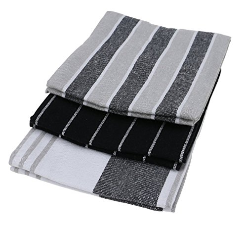 Generic 6pcs Kitchen Towels, 100% Natural Cotton, The Best Tea Towels, Dish Cloth, Absorbent And Lint-Free by Generic