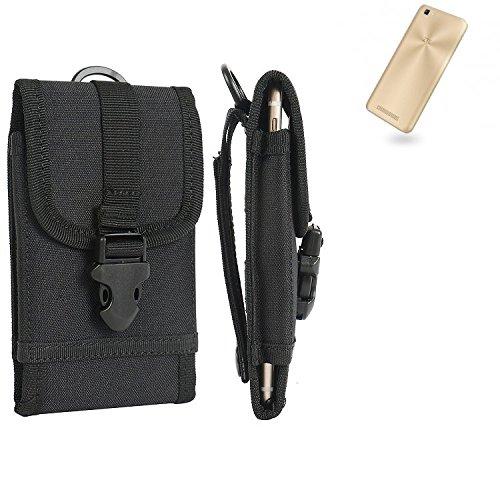 bolsa del cinturón / funda para ZTE Blade A612, negro   caja del teléfono cubierta protectora bolso - K-S-Trade (TM)