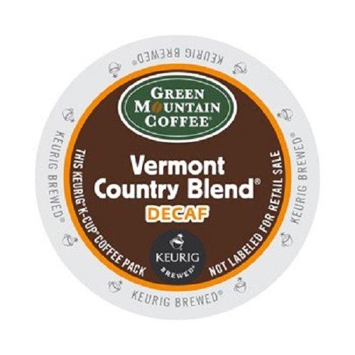 Green Mountain Coffee Medium Roast K-Cup for Keurig Brewers, Vermont Homeland Blend Decaf Coffee (Pack of 96)
