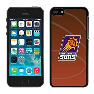 New Custom Design Cover Case For iPhone 5C Generation Phoenix Suns 11 Black Phone Case wangjiang maoyi
