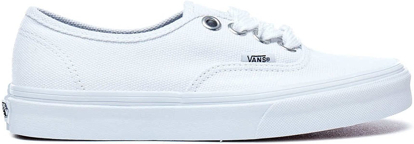 5a5db7ee280098 Vans Unisex Adult (Q9G) (Oversized Lace) True White True White Authentic