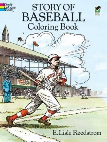 Story of Baseball Coloring Book