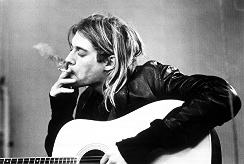 Kurt Cobain.Nirvana Musical Band Poster Print by Go Awesome (12 x 18 inch, Rolled)